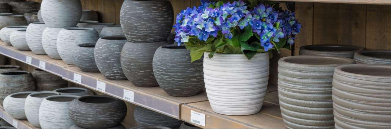 Keramiek terracotta potten voor buiten - Het Bloemenhuis Beveren
